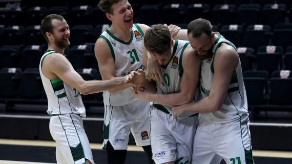 Marius Grigonis' game-winner keeps Zalgiris Kaunas in the EuroLeague playoff zone