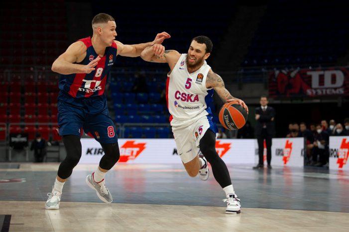 CSKA Moscow suffers first EuroLeague defeat since October 22