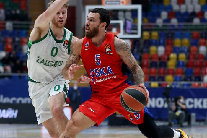 Mike James, CSKA Moscow end Zalgiris Kaunas' six-game EuroLeague winning streak