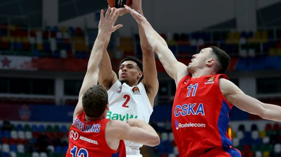 Bayern Munich stuns CSKA Moscow to maintain EuroLeague top four push