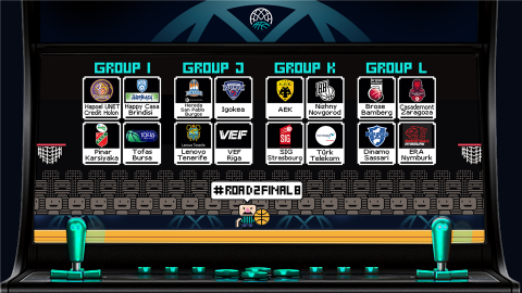 Basketball Champions League Play-Offs groups confirmed