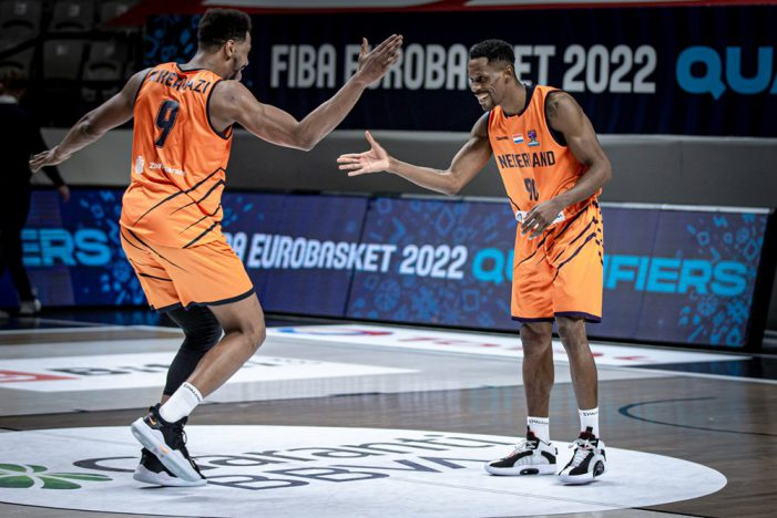 FIBA EuroBasket 2022 qualifiers; Latvia and Montenegro out. Only two spots left.