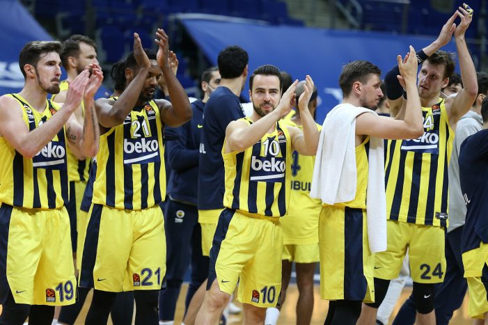 Fenerbahce extends winning streak to 10 games to maintain EuroLeague top four push
