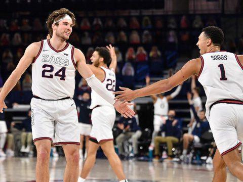 Gonzaga University unbeaten