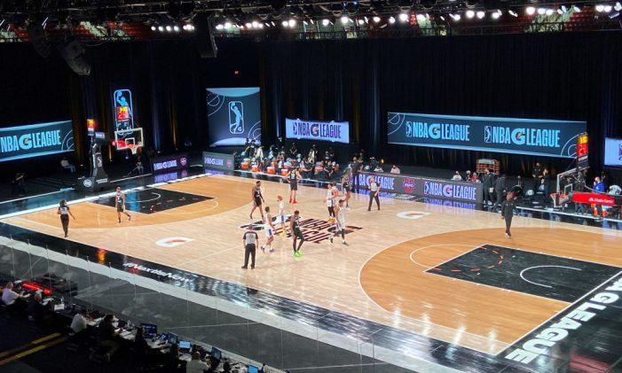 NBA G League finally started
