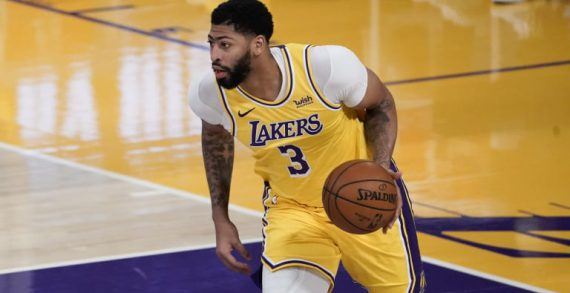 Anthony Davis sidelined after reinjuring Achilles