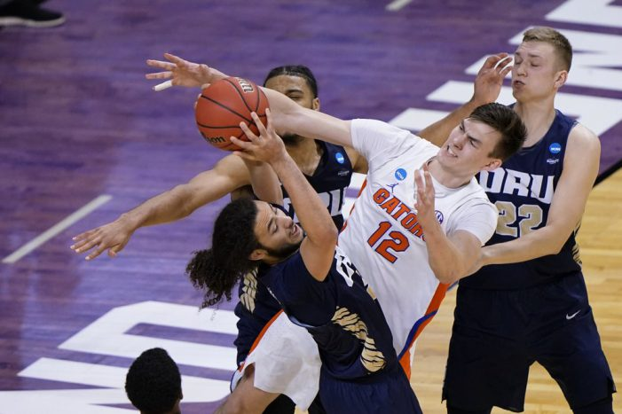Oral Roberts reaches Sweet 16