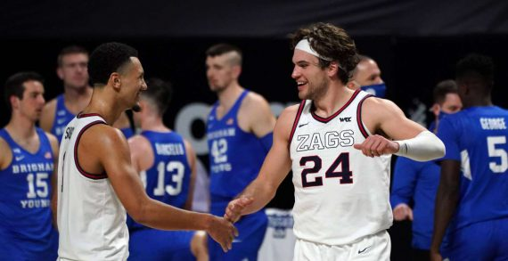 Gonzaga University enters NCAA Tournament with 26-0 record