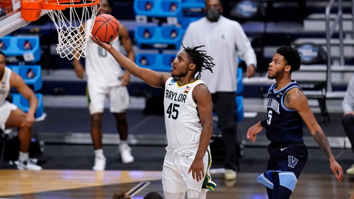 Baylor survives Villanova, advances to Elite Eight in men's NCAA Tournament