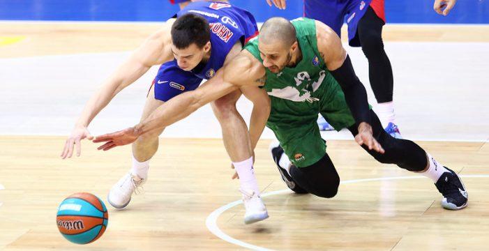 CSKA ends 10-game winning streak of Unics Kazan