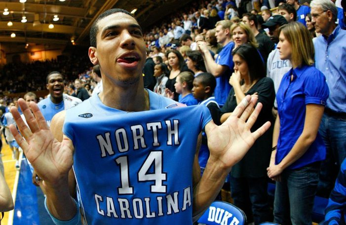 Danny Green donates one million to endow UNC men's basketball scholarship