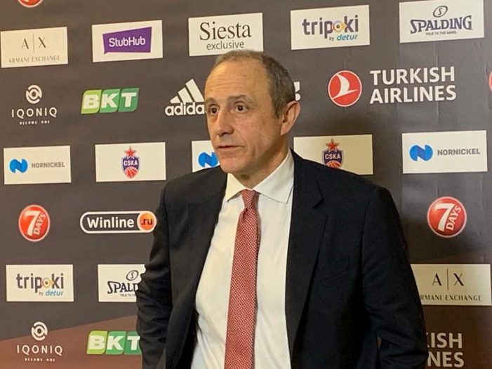 Ettore Messina will be the new coach of the Italian National Team