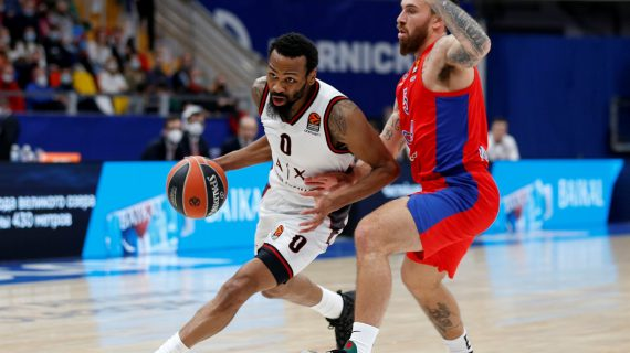Kevin Punter's career high leads Armani Milano to first EuroLeague road win over CSKA Moscow in more than a decade