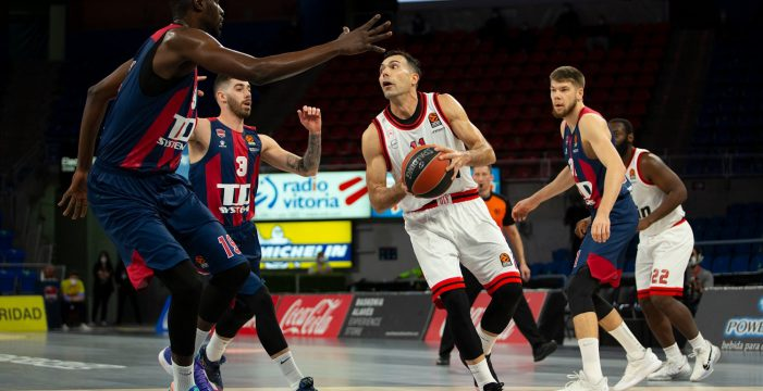 Olympiacos sets club record with seventh straight EuroLeague loss