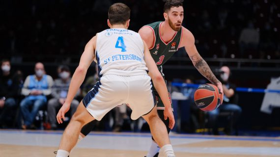 Baskonia makes wild comeback over Zenit Saint Petersburg to maintain EuroLeague playoff push