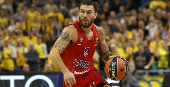 CSKA coach suspends Mike James again