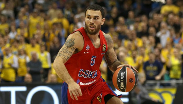 CSKA coach suspends Mike James again