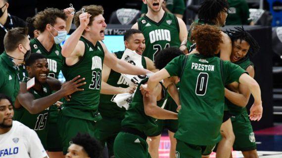 Ohio sends reigning NCAA Champion Virginia home
