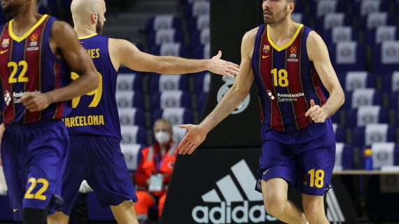 FC Barcelona becomes first team to officially qualify for the EuroLeague playoffs