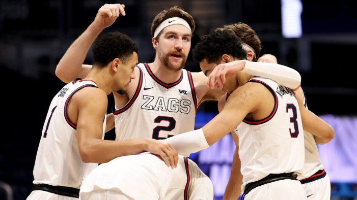 Unstoppable Gonzaga moves on the Elite Eight
