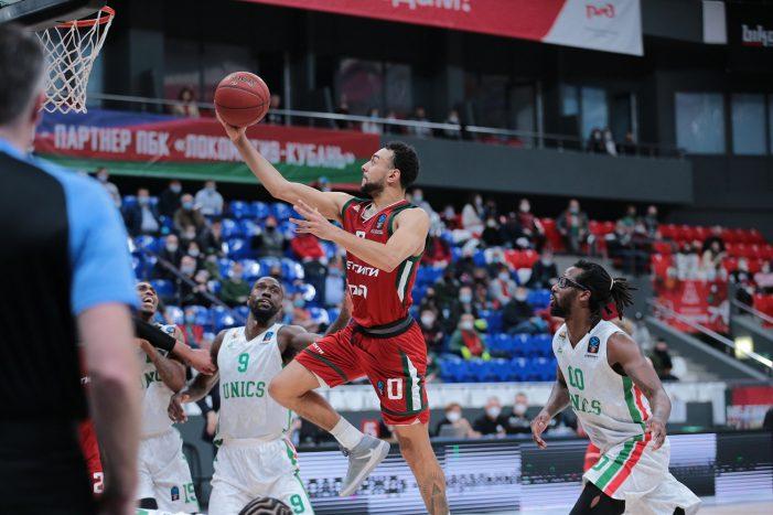 Lokomotiv rolls over UNICS to force Game 3 in Eurocup quarterfinals