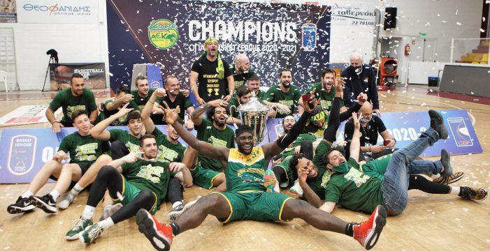 AEK Larnaca champion of Cyprus