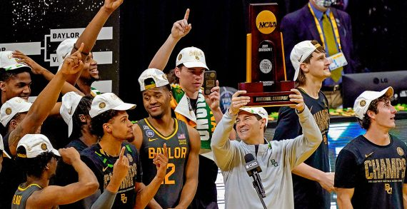 Baylor wins NCAA national title after a blow-out win over Gonzaga