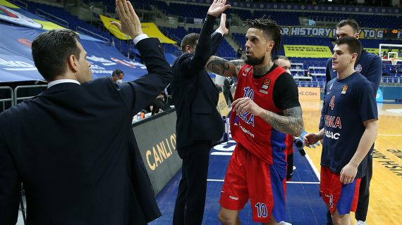 CSKA Moscow becomes first team to officially qualify for the EuroLeague Final Four