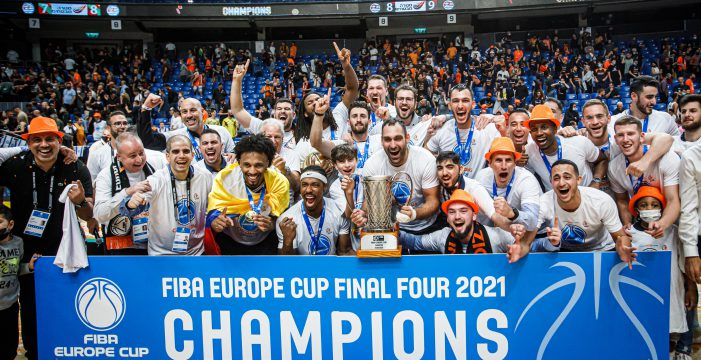 Ironi Ness Ziona wins FIBA Europe Cup