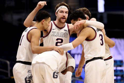 Gonzaga heavy favorite in NCAA Final Four