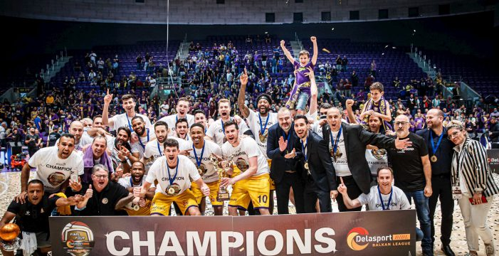 Hapoel Holon wins Balkan league