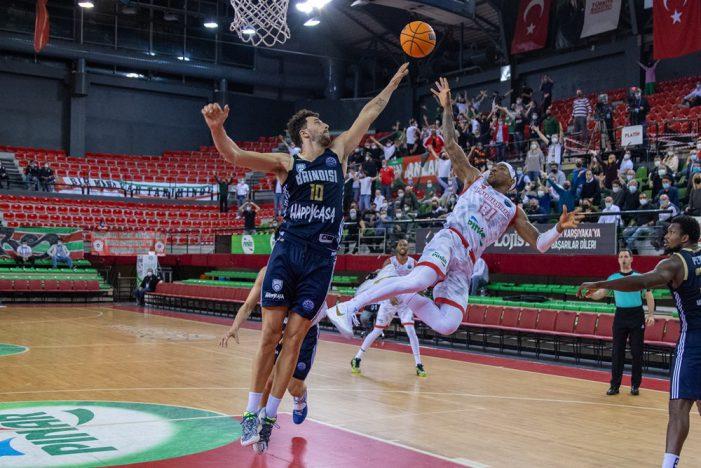 Karsiyaka outguns Brindisi and claims FIBA Championsleague Final 8 spot