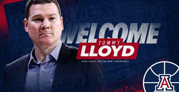 Tommy Lloyd to lead University of Arizona