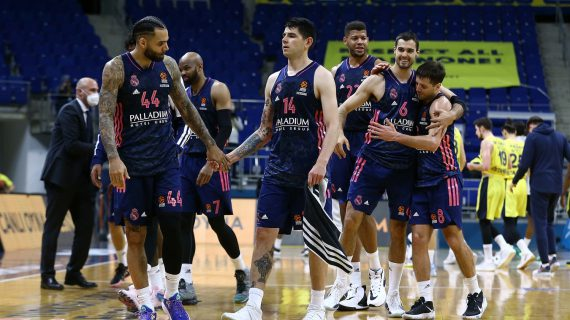 Real Madrid advances to EuroLeague playoffs after blowout win over Fenerbahce