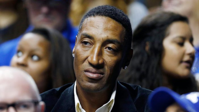 Scottie Pippen announces death of son Antron