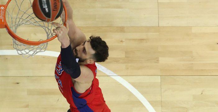 CSKA Moscow extends winning streak to six games in EuroLeague regular season finale