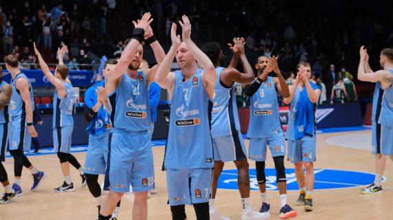 Zenit Saint Petersburg clinches last EuroLeague playoff spot