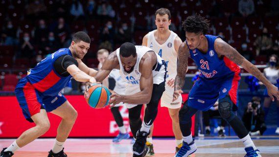 Zenit wins VTB regular season after beating CSKA