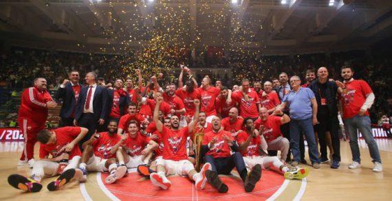 Crvena Zvezda wins Adriatic League in front of a capacity crowd