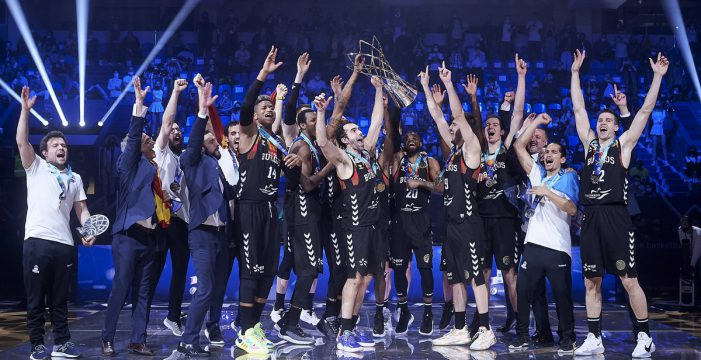 Burgos captures FIBA Champions League title