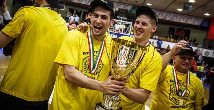 Falco KC Szombathely three-peats in Hungary