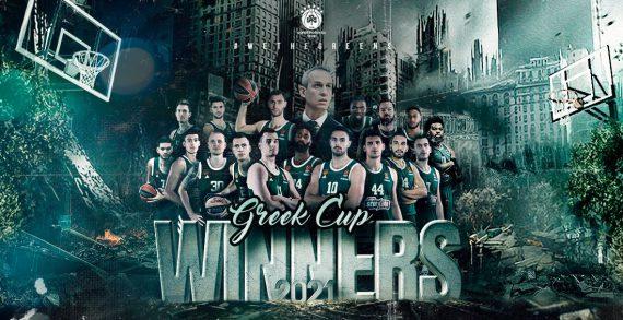 Panathinaikos wins Greek Cup