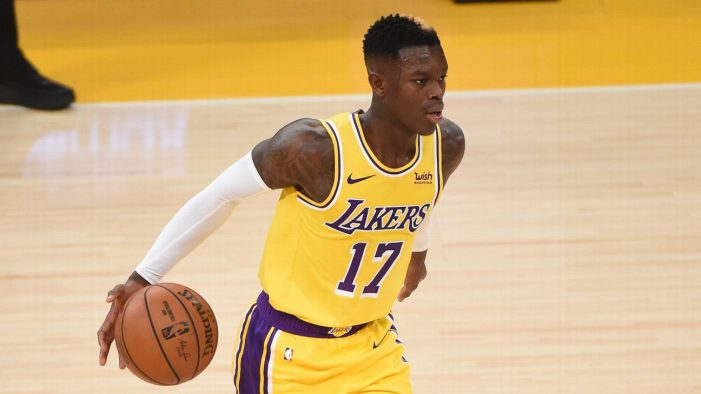 Los Angeles Lakers guard Dennis Schroder out 10-14 days, per report