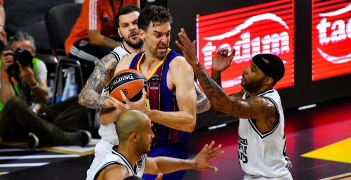 Barcelona and Efes in Euroleague final
