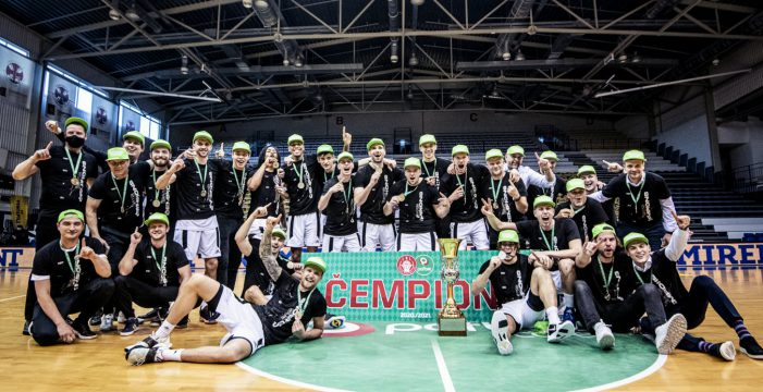 VEF Riga sweeps final series and wins Latvian title