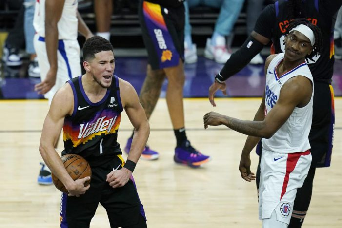 Phoenix Suns outplay LA Clippers in opener