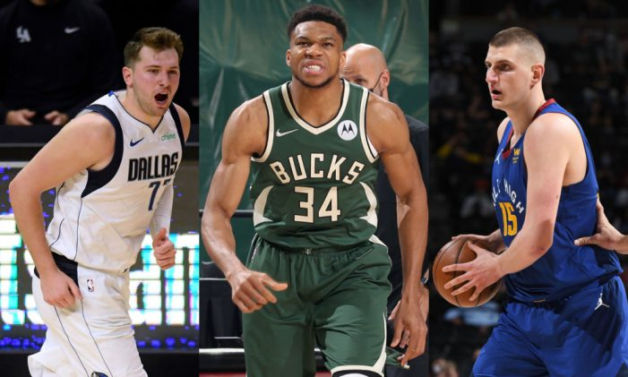 Only two Americans in 1st Team All-NBA