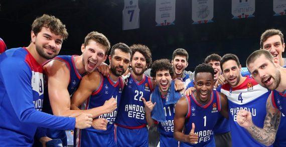 Anadolu Efes wins Turkish title