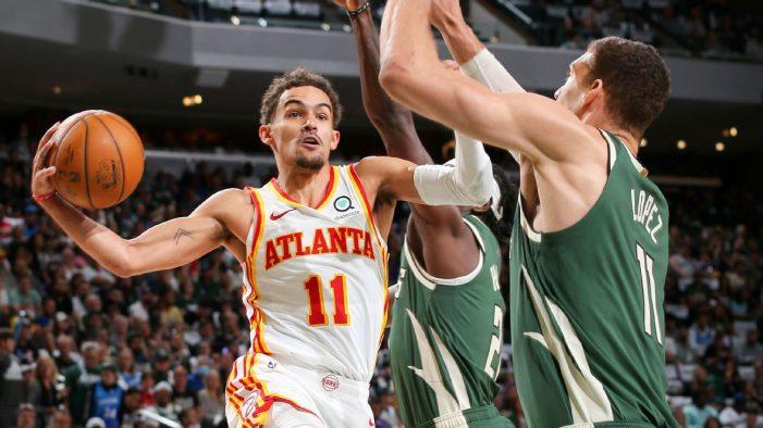 Atlanta Hawks beat Milwaukee Bucks thanks to 48 points by Trae Young