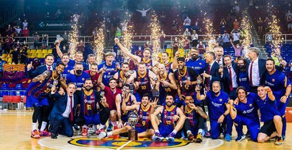 Barcelona wins 19th Spanish league title